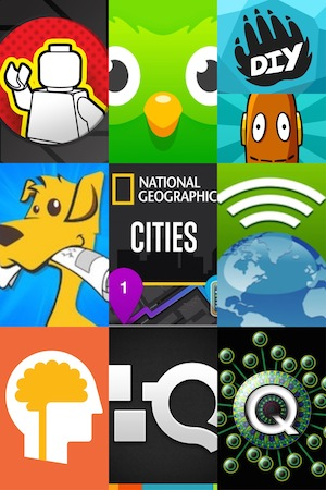 Collage of recommended app icons